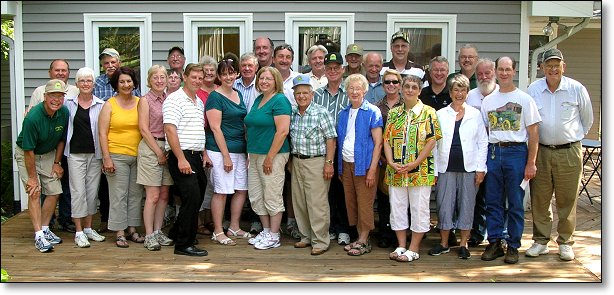 These are the volunteers who will be planning the 2012 Gathering of the Green